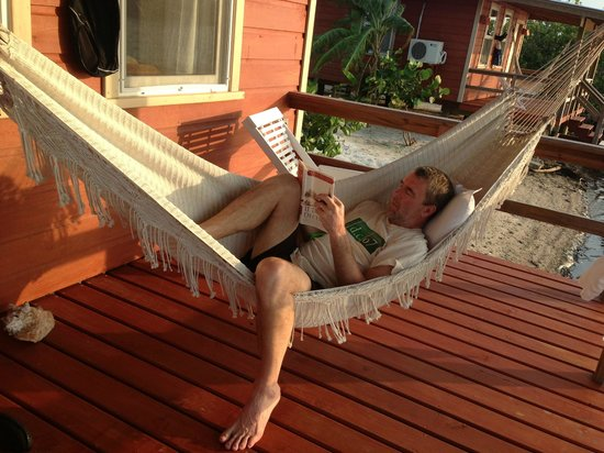 Laguna Beach Resort:                   the hammock on our porch