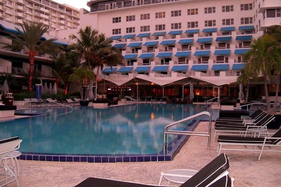 The Ritz-Carlton, South Beach:                   Beautiful Weather - Even In December
