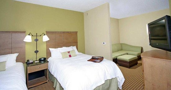 Hampton Inn & Suites Atlantic Beach: Two Double Beds
