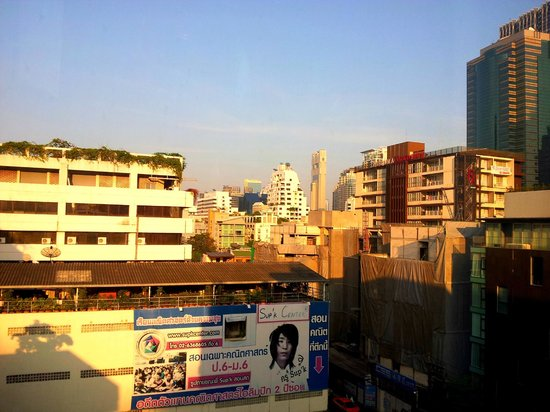 The Heritage Bangkok: The view from my room