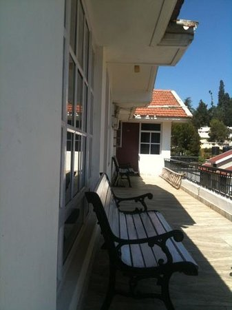 Maruthi Cottages: balcony