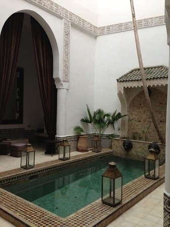 Riad Dar Saad : patio Riad 2 