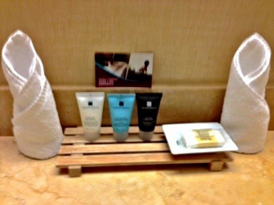 Crowne Plaza Palo Alto: complimentary toilletetries