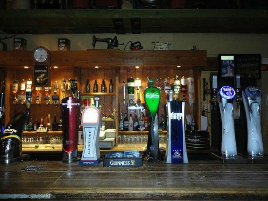 Portadown, UK: The Bar with a wide selection of drinks