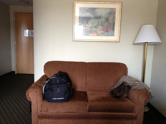 Sleep Inn Boone: pullout comfortable sofa
