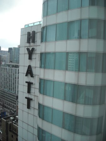 ‪‪Hyatt Regency Toronto‬: View out the window‬