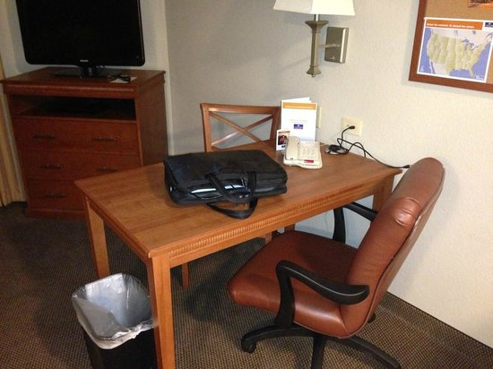 Candlewood Suites Bluffton-Hilton Head: In room work space