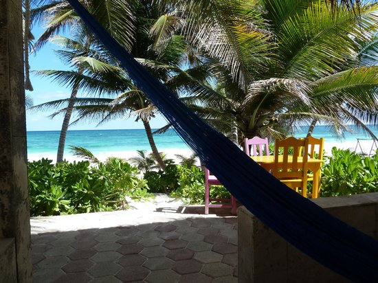 Cabanas Tulum:                   Paradise right outside your door!