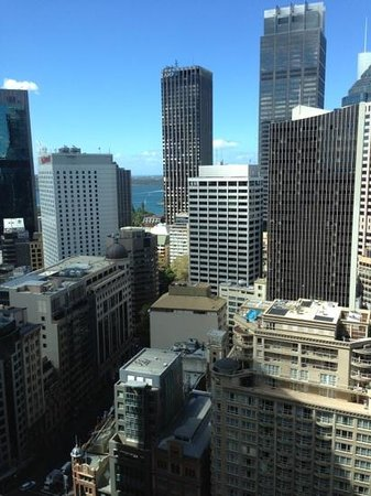 Amora Hotel Jamison Sydney: view from room.