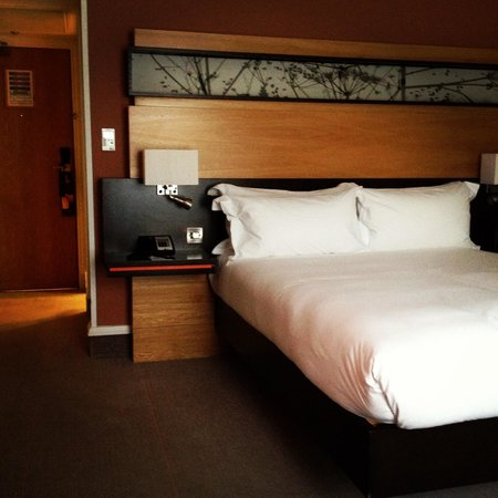 Hilton Dublin: Our hotel room :)