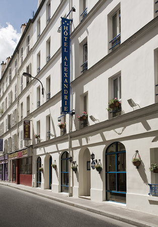Hotel Alexandrie: Faade de l&#39;htel