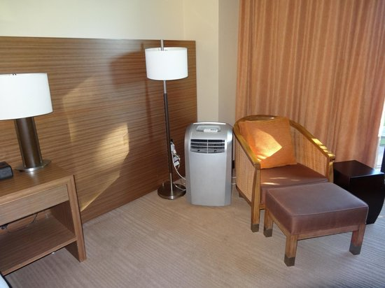 Hyatt Regency Monterey Hotel &amp; Spa: Added A/C unit (not needed in January)