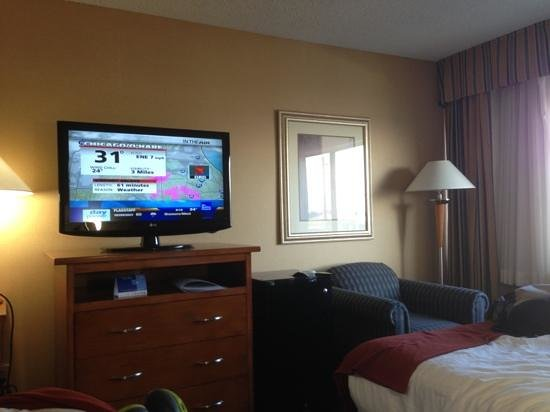 Holiday Inn Express: room