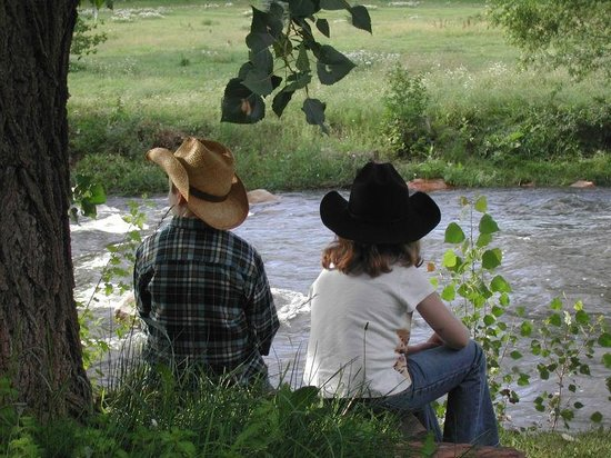 Sylvan Dale Guest Ranch: Just Relaxin' by the River