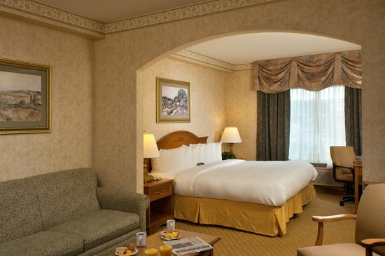 Comfort Suites Clifton Park: Standard King Suite
