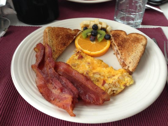 Cornucopia, WI : Savor this breakfast