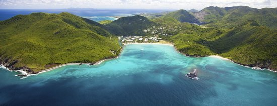St. Maarten: St Martin aerial shore