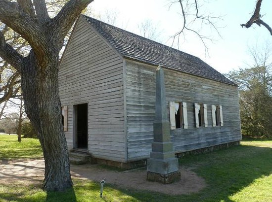 Washington, TX: Independence Hall - a recreation on the exact spot of the original building