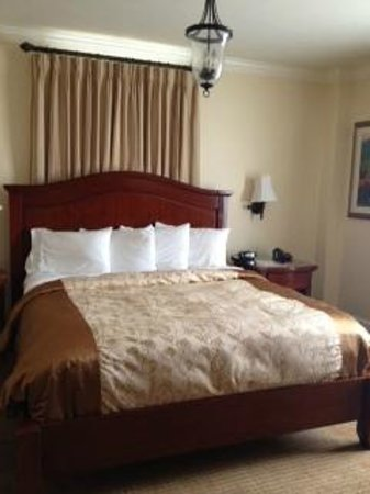 The George Washington A Wyndham Grand Hotel: Our Big comfortable King Sized BEd