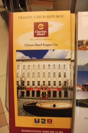 Clarion Hotel Prague City: HOTEL LEAFLET GUIDE