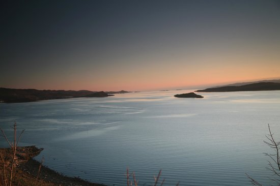Loch Melfort Hotel and Restaurant: Sunset over Loch Melfort from Arduaine Gardens Viewpoint