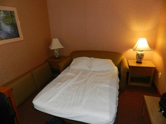 Comfort Inn Quantico: The sofa-bed