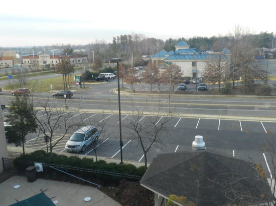 Comfort Inn Quantico: View from room
