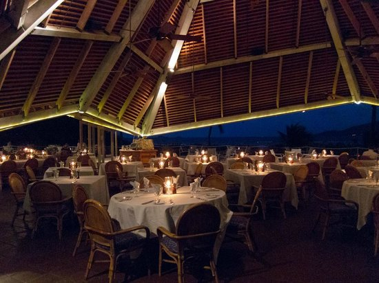 Rosewood Little Dix Bay: Dining Pavilion