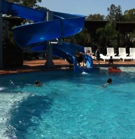 Gold Coast Holiday Park & Motel: the slide