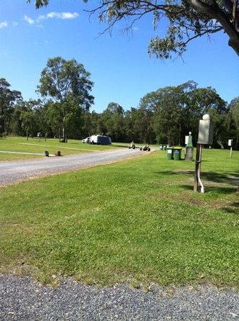 Helensvale, Australia: the RV sites