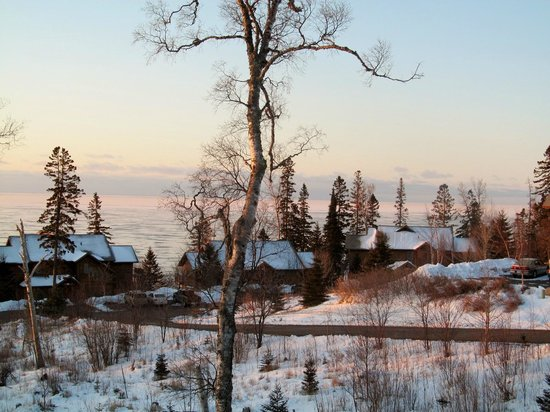 Lutsen Resort on Lake Superior: Breathtaking condo view