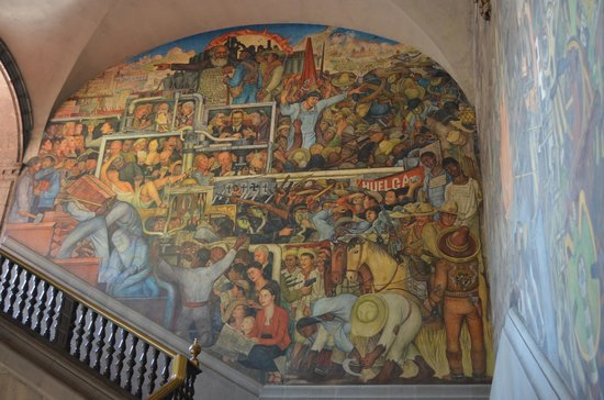 Casa Inn Mexico City: Mural de Rivera