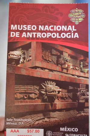 Casa Inn Mexico City: Entrada Museo de Antropologia