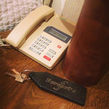 Ferrari's Country House Hotel: phone from 1975