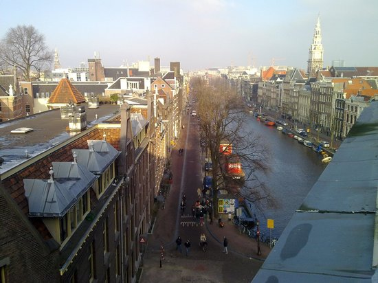 NH Amsterdam Doelen: View from room