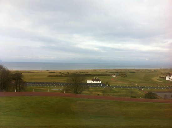Turnberry, UK: A room with a view