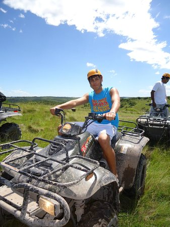 Areena Riverside Resort: Quad riding