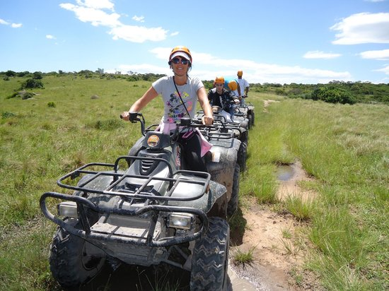 Areena Riverside Resort: Fun on a 4 wheeler