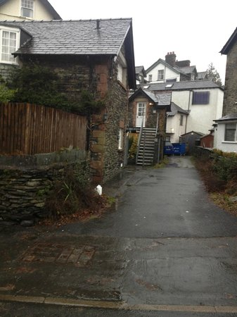 Windermere Boutique Hotel: Entrance/access to rooms