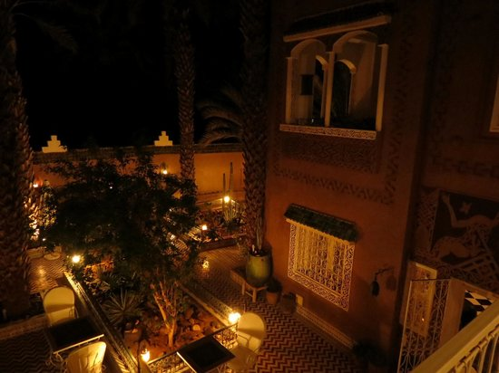 Riad dar Sofian: Evening