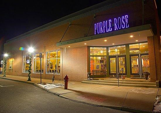 The Purple Rose Theatre in downtown Chelsea