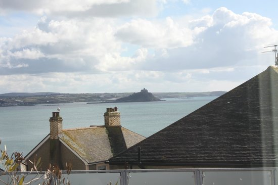 Hotel Penzance: View from Superior Double Room