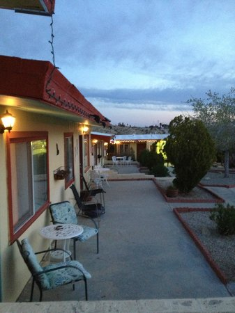 Harmony Motel: photo from room 5