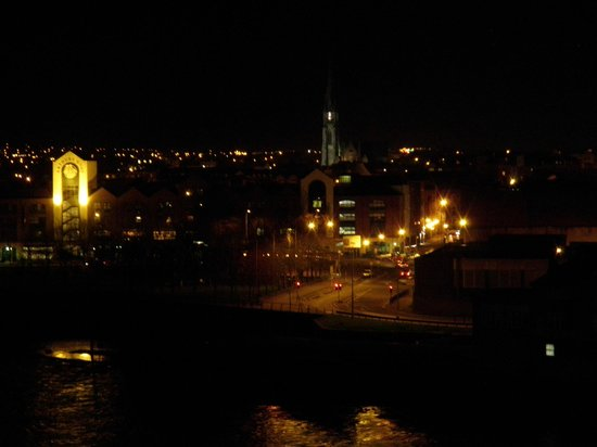 Limerick Strand Hotel: View from the top floor.