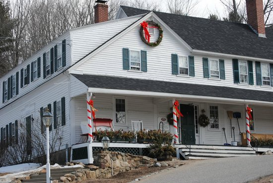 Christmas Farm Inn &amp; Spa: Inn rooms on top floor