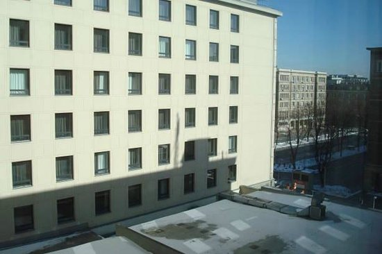 Mercure Warszawa Grand: View of courtyard from room