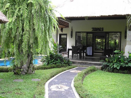 Furama Villas & Spa Ubud: View from private front gate