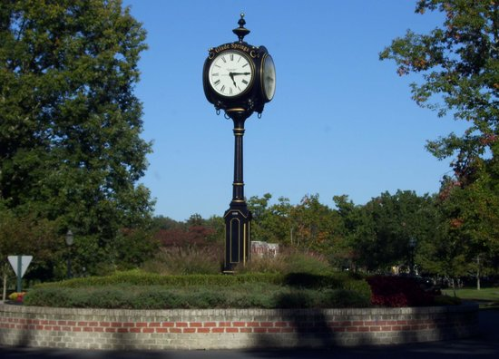 Daniels, WV: Clock in the resort