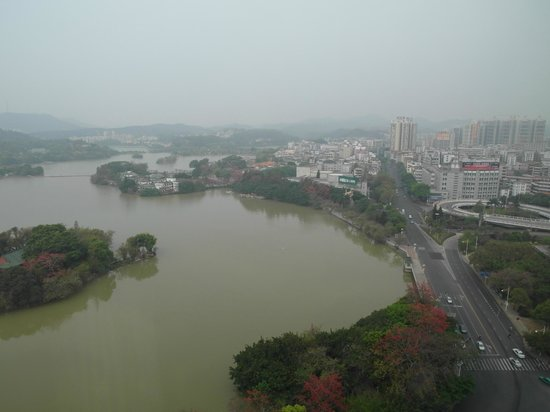 Kande International Hotel: lake view from guestroom
