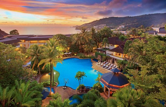 Diamond Cliff Resort and Spa: Hotel&#39;s over view